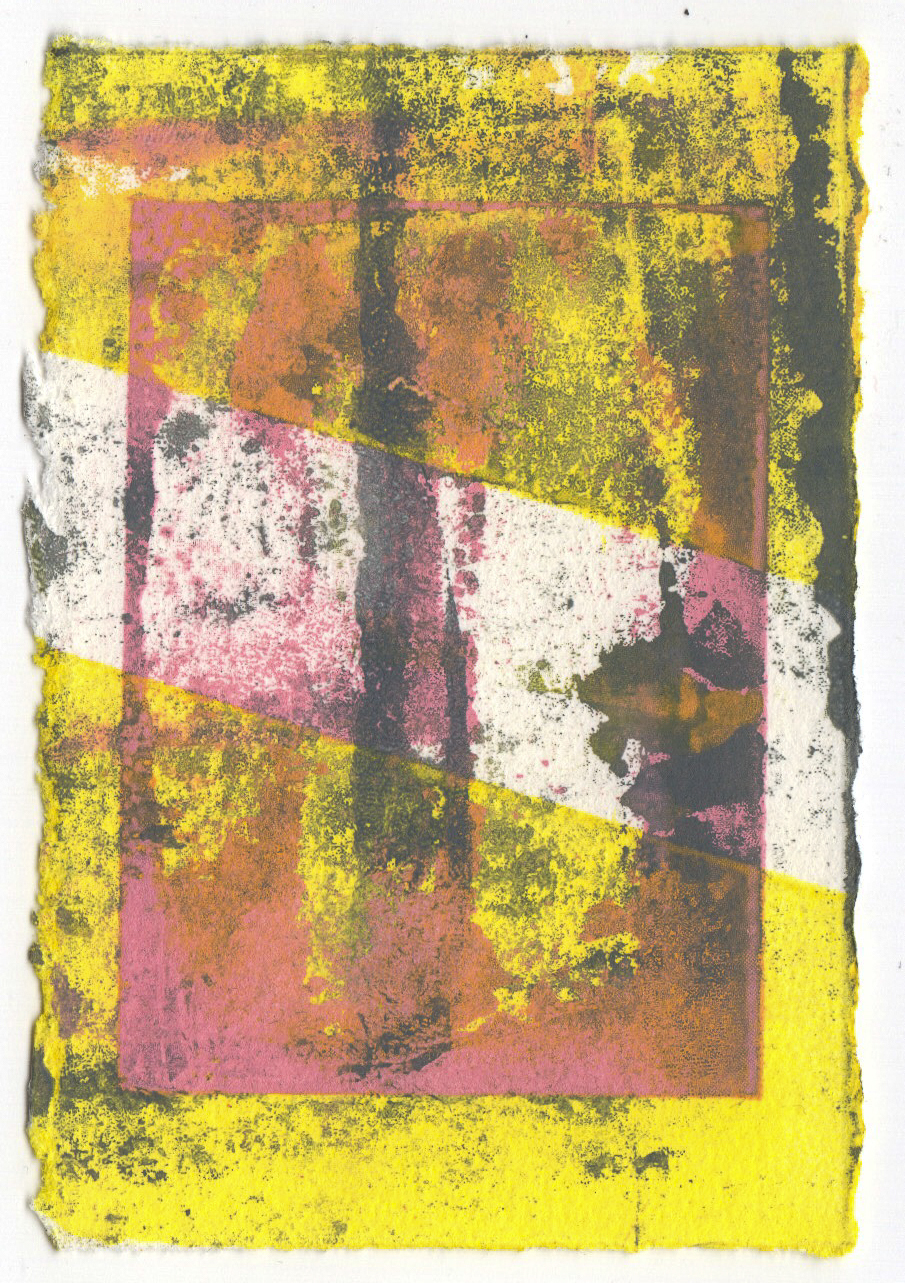 Silkscreen Monotype 2017